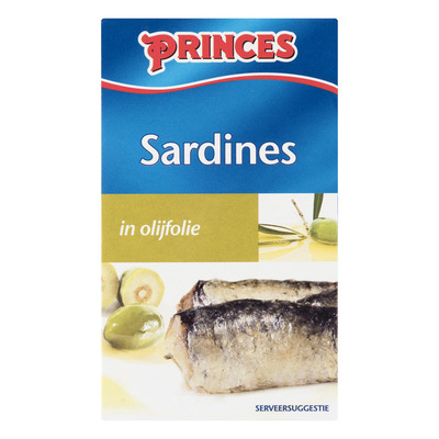 Princes Sardines in olijfolie