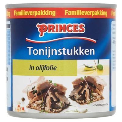 Princes Tonijnstukken in olijfolie