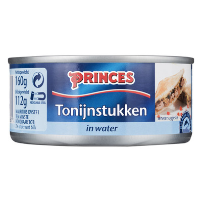 Princes Tonijnstukken in water