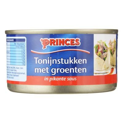 Princes Tonijnstukken met groente