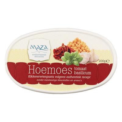 Maza Hoemoes tomaat-basilicum