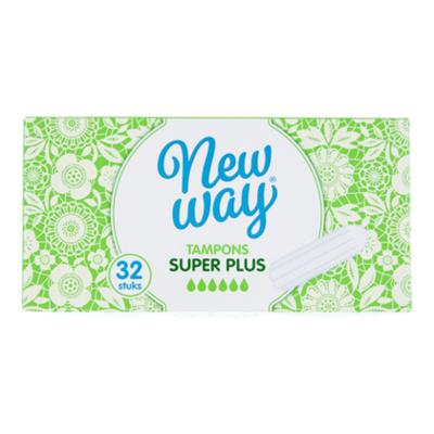 New Way Tampons super+