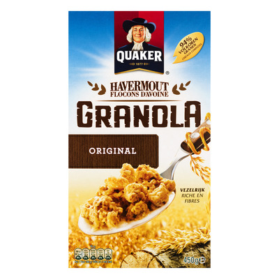 Quaker Havermout granola original