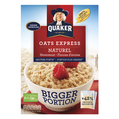 Quaker Oats express havermout grotere portie