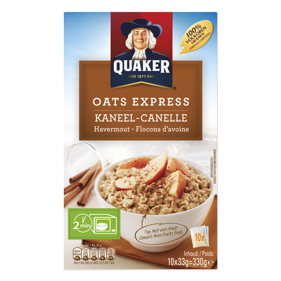Quaker Oats express havermout kaneel