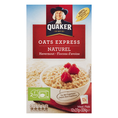 Quaker Oats express havermout naturel