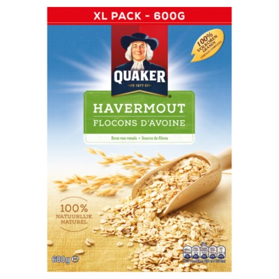 Quaker havermout 600 gram
