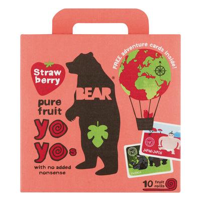 Bear Pure fruit strawberry yoyos