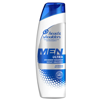 Head & Shoulders Instant shampoo geïrriteerde hoofdhuid