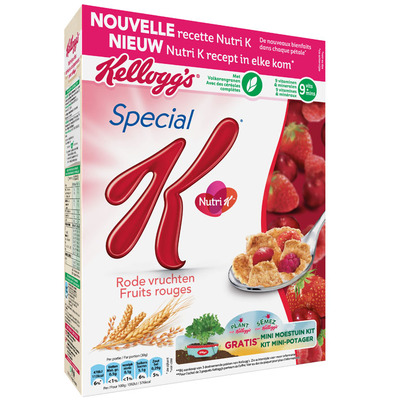 Kellogg's Special K rode vruchten