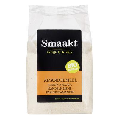 Smaakt Amandelmeel bio (gemalen amandelen)