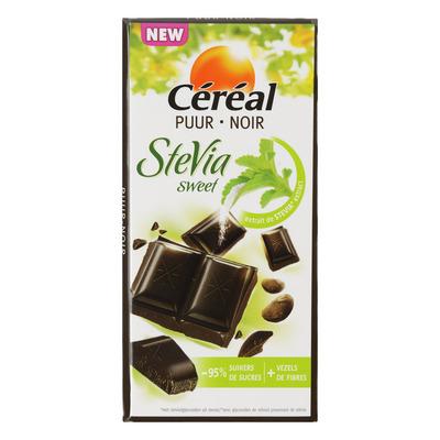 Cereal Chocoladetablet puur met stevia