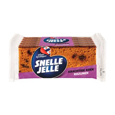 Snelle Jelle Kruidkoek Rozijn 5-pack