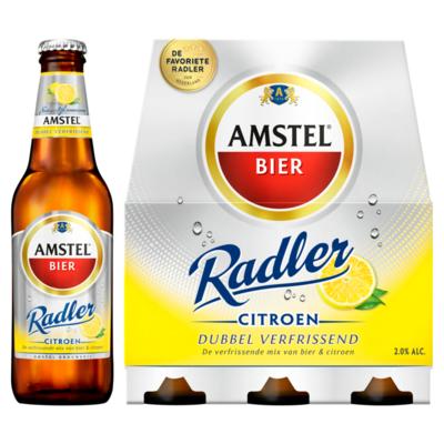 Amstel Radler Bier Fles