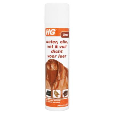 HG Water, olie, vet & vuil dicht  leder