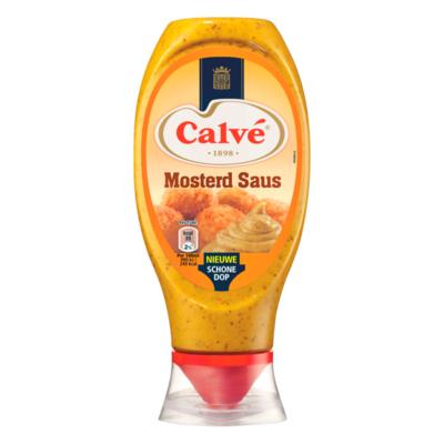 Calvé Saus Squeeze Mosterd