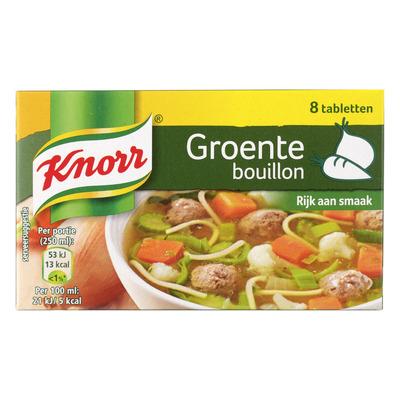 Knorr Bouillon groente