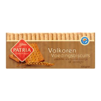 Patria Volkoren Voedingsbiscuits