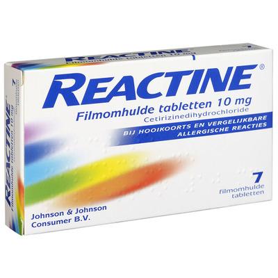 Reactine Hooikoortstabletten cetirizine 10 mg