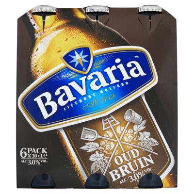 Bavaria Oud Bruin Fles Donker Bier 6 x 30 cl