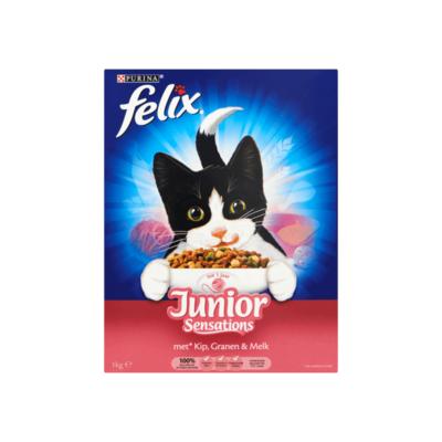 Felix Junior Sensations met Kip, Granen & Melk