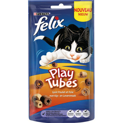 Felix Playtubes met kip- en leversmaak