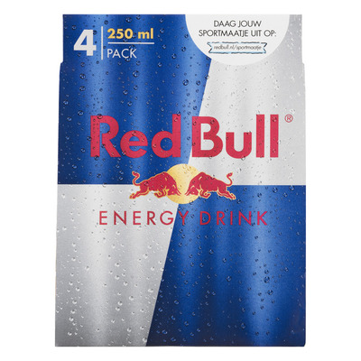 Red Bull Regular 4 pack
