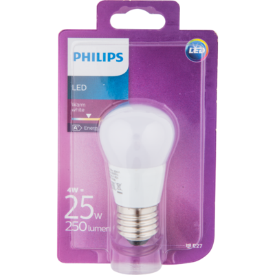 Philips Ledlamp globe 25w e27