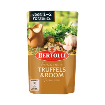 Bertolli Pastasaus In Zak Truffel & Room 1-2 Porties