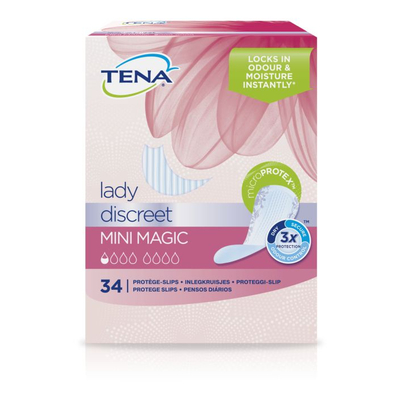 Tena Lady mini magic inlegkruisjes