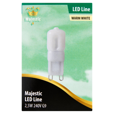 Majestic Led Lamp Mat Warm White 2,5W