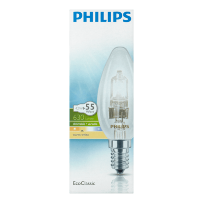 Philips EcoClassic Lamp Warm Wit 42W E