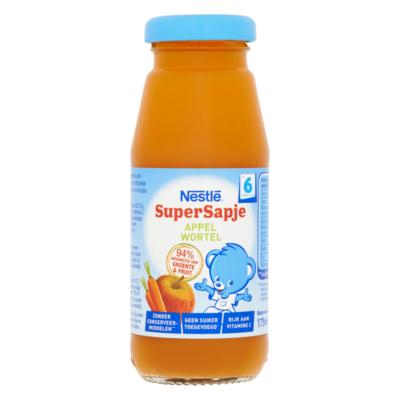 Nestlé® Baby Supersapje Appel-Wortel