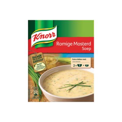 Knorr Romige Mosterdsoep Mix