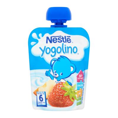 Nestlé Baby Yogolino® Appel-Aardbei