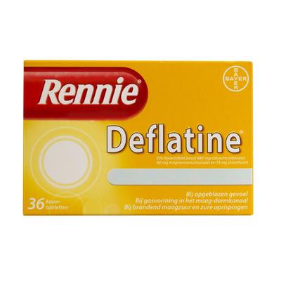 Rennie Deflatine kauwtabletten