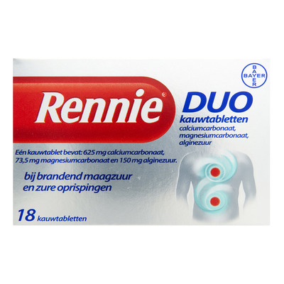 Rennie Duo kauwtabletten