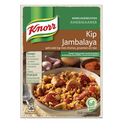 Knorr Wereldgerechten jambalaya