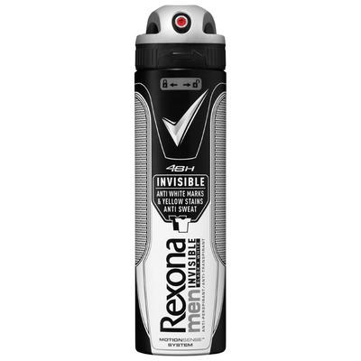 Rexona Deodorant spray men invisible