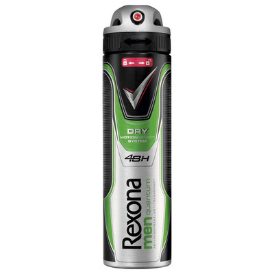 Rexona Deodorant spray men dry quantum