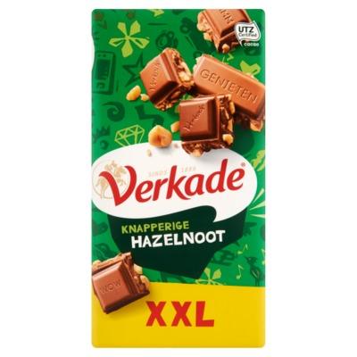 Verkade chocolade knapperige hazelnoot 192 gram