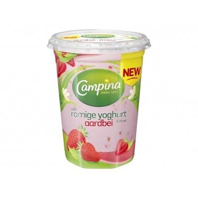 Campina Roomyoghurt aardbei
