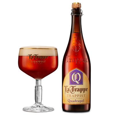 La Trappe Quadrupel trappist fles speciaal bier