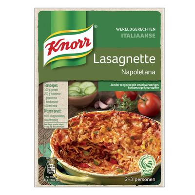 Knorr Wereldgerechten lasagnette