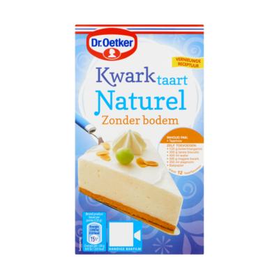 Dr. Oetker Mix voor Kwarktaart Naturel Zonder Bodem