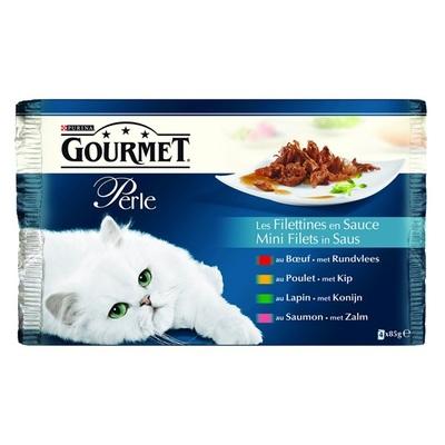 Gourmet Perle Kattenvoer Minifilets In Saus