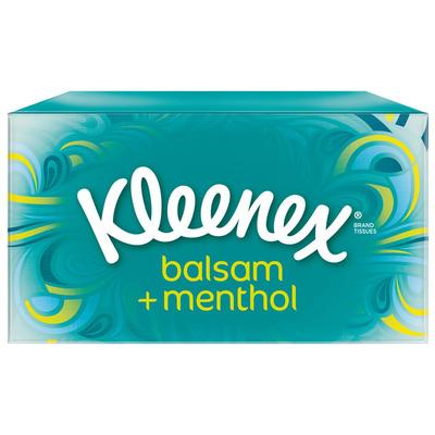 Kleenex Tissues balsam + menthol