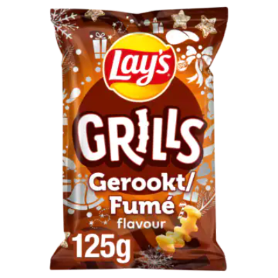 Lay's Grills Maissnack Gerookt Flavour