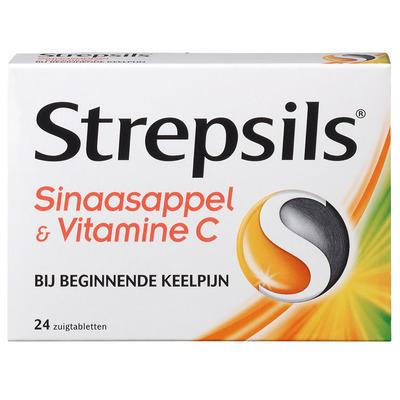 Strepsils Sinaasappel & vitamine C