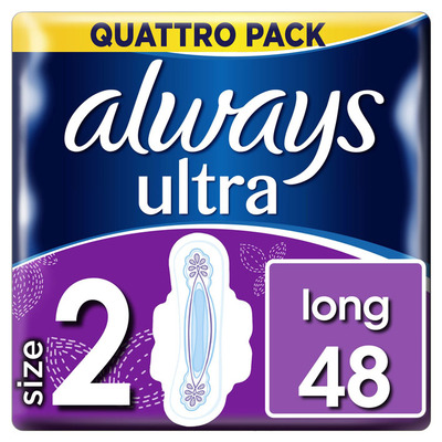 Always Ultra long (maat 2) 48 maandverbanden